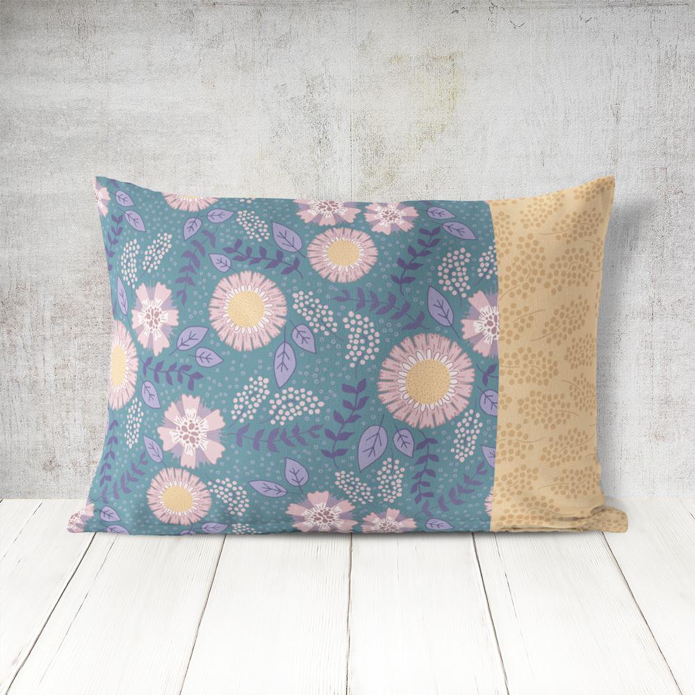 Blumen als Pattern Design für z.B. Stoff für Selbermacher. | www.juliakleindesigns.de | Surface Pattern Design und Illustration