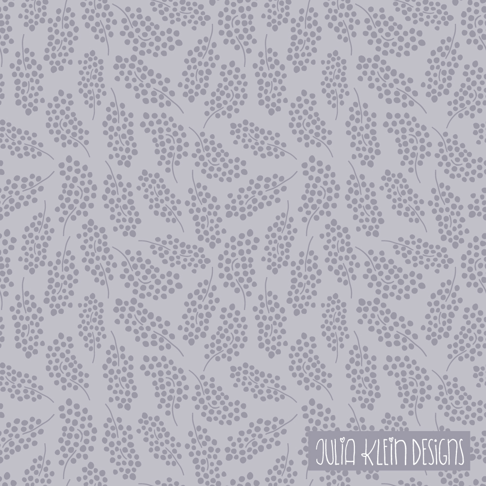 Blumen als Pattern Design für z.B. Stoff für Selbermacher. | www.juliakleindesigns.de | Surface Pattern Design und Illustration